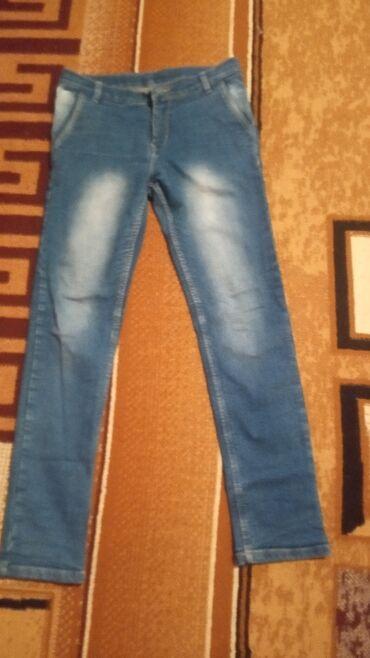 Продам джинсы подростковые на 14-16 лет мальчиковые. Высота 95 см