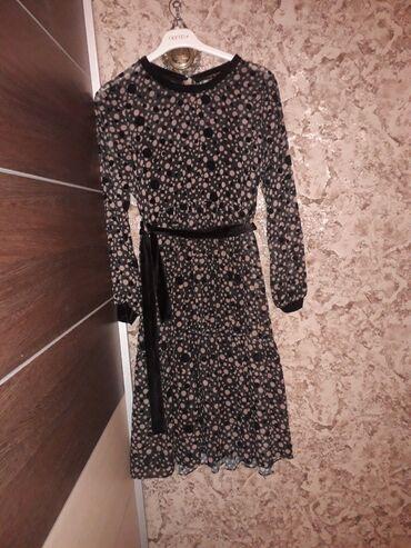 трикотажное платье футляр в Кыргызстан: Платье горошек