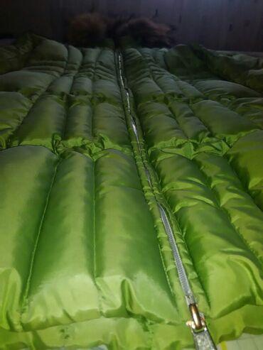 Zimske jakne sa krznom - Srbija: Zelena moncler jakna,nosena prosle zime(sada mi je uska)prelepa