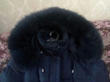 женский пуховик с капюшоном в Кыргызстан: Зимнее, оочень теплое пальто(пуховик) с капюшоном отличного качества