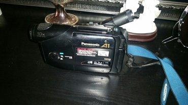 Bakı şəhərində Panasonic video kamera.