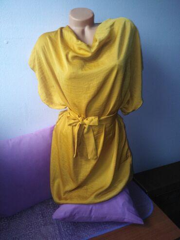 Tunika svila - Srbija: PIAZA ITAL8JA. Predivna tunika, haljina sa jako izrazeom dubinom