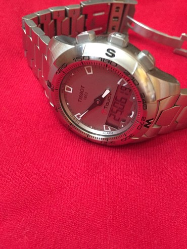 Швецарские мужские часы.  Tissot tach 2. Tach screen. Original.  в Душанбе
