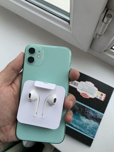 наушники наушники в Кыргызстан: Оригинальные наушники от iphone 11(earpods)