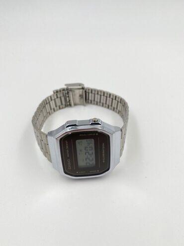 купить участок в александровке в Кыргызстан: Серебристые Мужские Наручные часы Casio