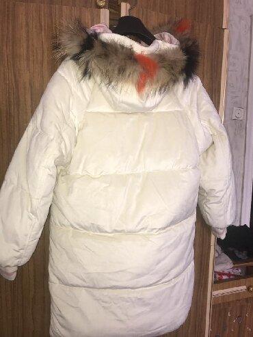 dlinnaja zimnjaja kurtka в Кыргызстан: • Совсем новая зимняя куртка • В золотом состоянии️ • Имеется 2 съемны