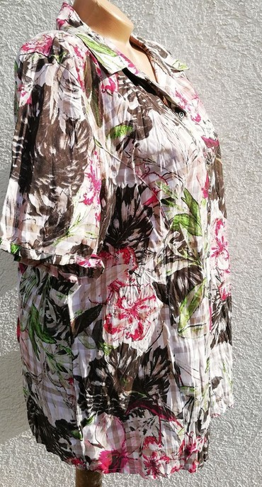 Kosulja-haljinica-pre-stoji-markirana - Srbija: KOSULJA BONITA 44/XL (107) markiranaizabertite 3 stvari od garderobe