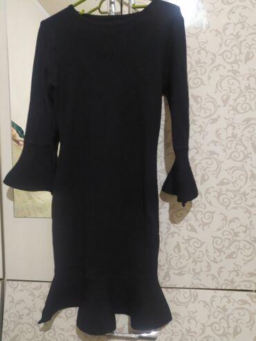 трикотаж платье в Кыргызстан: Платье трикотажное размер S, качество отличное