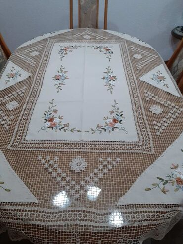 Nerc - Srbija: Nercani stolnjak RUCNI RAD  150*220  140*180 180 * 270 180 * 300  Ima