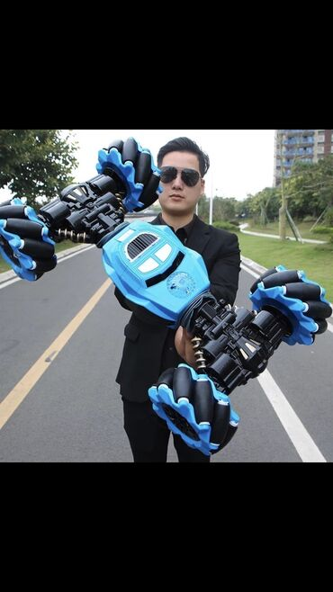 трюковой самакат в Кыргызстан: Машинки трюковые на ручном управлении, перевертыш. Три вида. Отличного