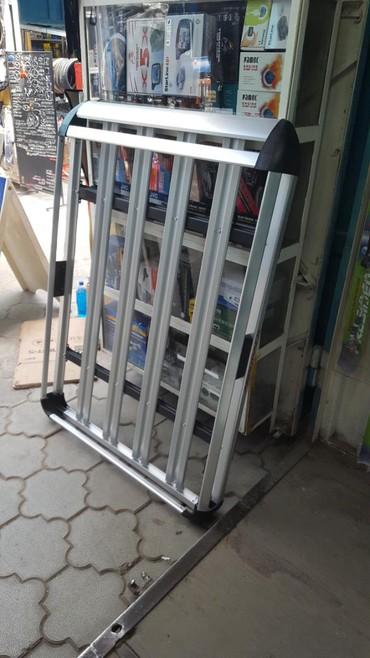 Багажник новый заводской 1м на 1.4м алюминевый мак вес 100кг  в Бишкек