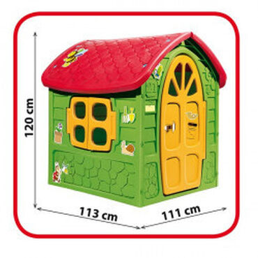 Dohany Velika Kućica za decu 111x120x113cm upola cene. Samo lično preu