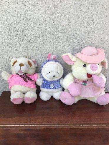 Мягкие игрушки, в очень хорошем состоянии, за все 300 сом в Бишкек