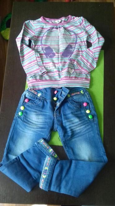 Bonita farmerice od - Srbija: Farmerice i bluzica za uzrast od 2-5 god
