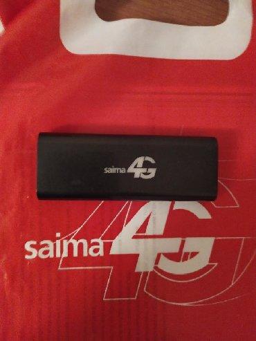 saima-4g-wi-fi в Кыргызстан: Модем с раздачей Wi-Fi. Saima 4G. Б.у. рабочий. Подходят сим карты