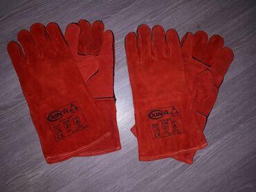 Rukavice za dzak - Srbija: Rukavice za zavarivanje (dva para)Potpuno nove kozne rukavice za