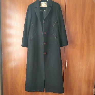 Пальто женское Б/У.Драповое, демисезонное.Состояние отличное.Размер