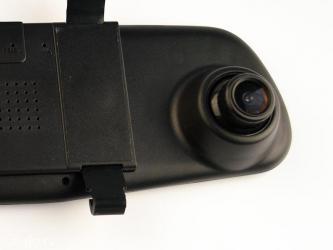 Dvr snimač vožnje, kamera i ekran sve to ugrađeno u retrovizor - sredn - Beograd - slika 5