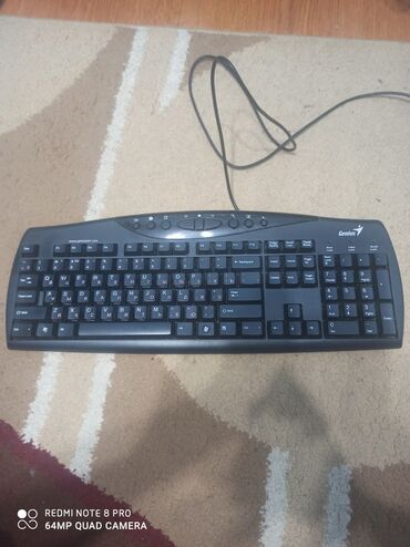 Клавиатуры - Кыргызстан: Продаю клавиатуру Genius!Всё кнопки рабочии