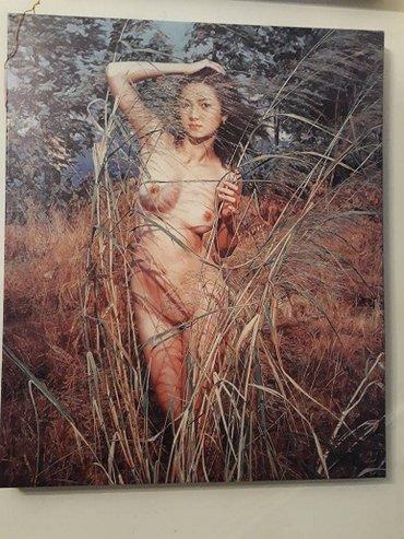 """аукцион картин в Кыргызстан: Картина """"Фигура"""" Обнаженная женщина, словно застывшая в вечности, на"""