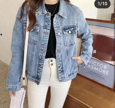Куплю джинсовую куртку размер М L недорого