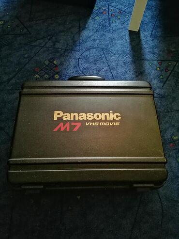Videokameri | Srbija: Panasonic vhs m7 kamera, ispravna. Koristena par puta za snimanje