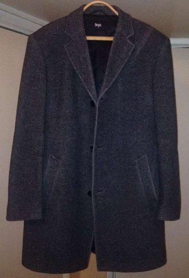 Пальто мужское, размер 50-52, цвет серый, производство РФ, б/у., в Бишкек
