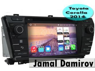 Bakı şəhərində Toyota corolla 2014 üçün dvd-monitor,
