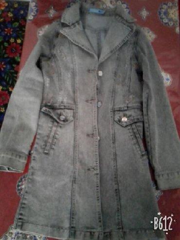 детская джинсовая куртка в Кыргызстан: Срочно продаю женский джинсовой куртка размер s Город Ош