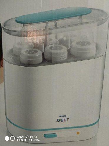 Avent sterilizator. Uşaq butılkalarını sterilizə etmək üçündür. Çox