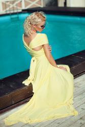 вечернее платье трансформер в Кыргызстан: Платье трансформер знаменитого американского дизайнера Вон Вонни
