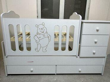 Детская кровать - трансформер Акция!Отличное решение для вашего