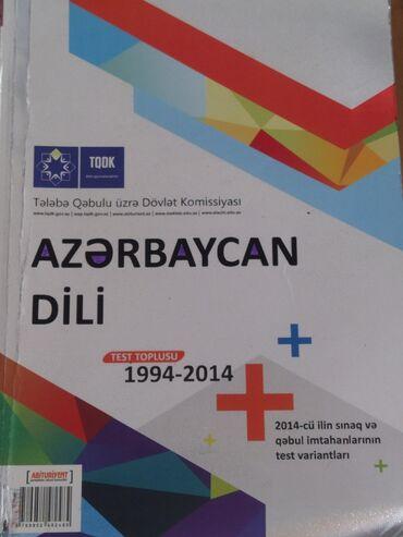 tqdk test toplusu в Азербайджан: Azərbaycan dili, TQDK test toplusu, içi təmizdir