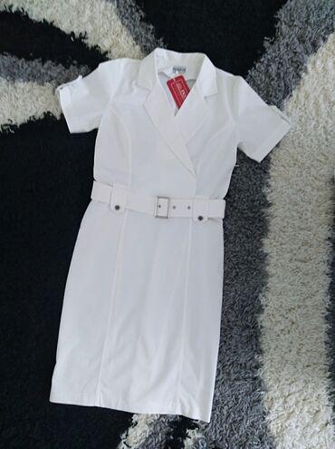 Potpuno nova haljina, sa etiketom, vel L, od pamučnog platna, jako