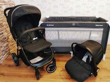 Odličan set   Moni set #Sindy2u1  set kolica sa auto sedištem    D