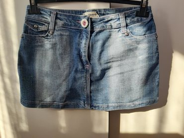 Broj suknjica - Srbija: Zenska teksas suknjica Broj 40