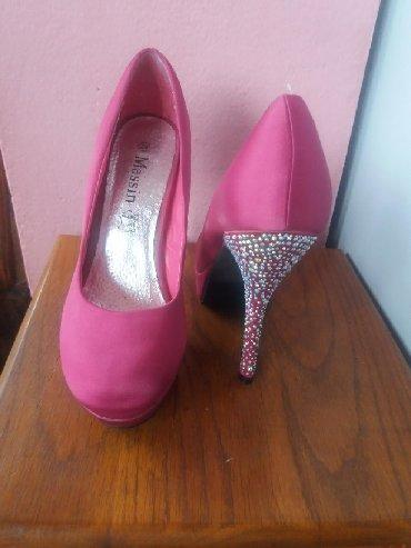 Ženska obuća | Bela Crkva: Roze stikle, jednom nosene. 39 broj