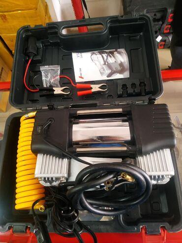 Инструменты для авто в Кыргызстан: Автомобильный насос компрессор. В наличии 24 вольт. Магазин Хуа Лин
