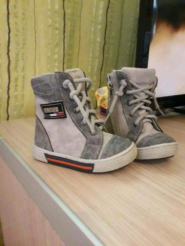 Dečije Cipele i Čizme - Velika Plana: Preslatke cipelice za dečaka, obuvene dva puta bukvalno. 22 broj