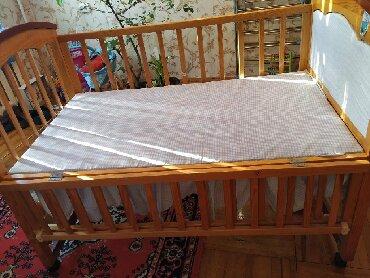 купить качалку детскую в Кыргызстан: Продаю детскую кроватку, в хорошем состоянии
