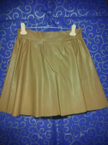 юбка солнце из кожи в Кыргызстан: Стильная юбка из эко кожи. качество цена