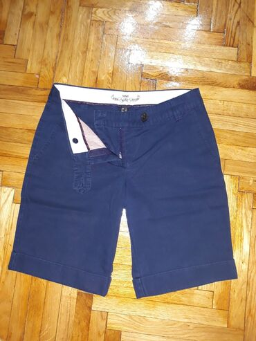 Pantalonice s - Srbija: MNG bermude, velicina 36-S. Mango kratke pantalonice, ocuvane