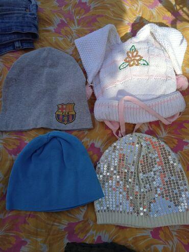 Детский мир - Джалал-Абад: Цена за все шапки Головной убор продаются детские шапки От 2 - до 5