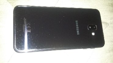 Samsung Zaqatalada: Samsung j6+.Hec bir problemi yoxdu.iki nomre gedir.barmaq izi ve uz