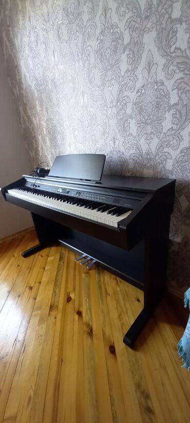 15 elan | İDMAN VƏ HOBBI: Elektron Medeli 3 pedal piano. 2020 il Aprel ayinda alinib. Basqa