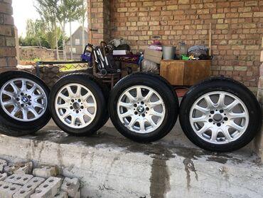 bmv e34 reduktor в Кыргызстан: Продаю диски с резиной БМВ 25стиль R16 В хорошем состоянии BMW e39, БМ