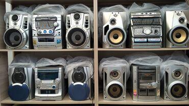 музыкальный центр в Кыргызстан: Продаю музыкальные центры. как усилитель. есть aux. есть и другие
