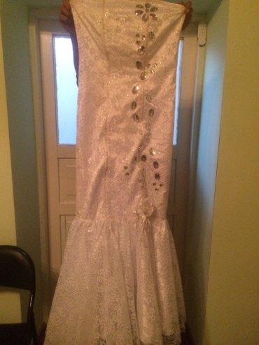 Платье Русалка,одевала пару часов,шубка в подарок в Сокулук