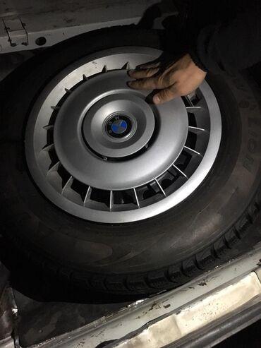 железные диски на 15 в Кыргызстан: Продаю зимние шины на бмв протектор 90% не давно брали с родными