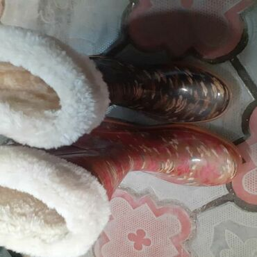 Резиновые сапоги - Кыргызстан: Сапоги мех
